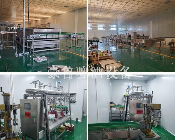啤酒厂设备灌装生产线