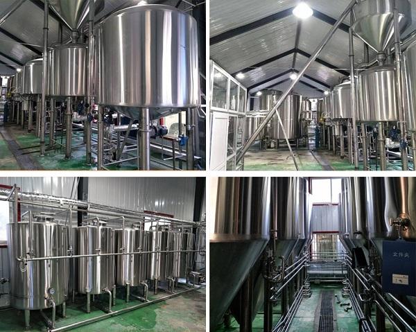 4吨啤酒厂生产线设备